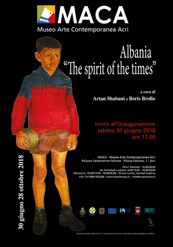 invito2  Museo Maca-ALBANIA.THE SPIRIT OF THE TIMES